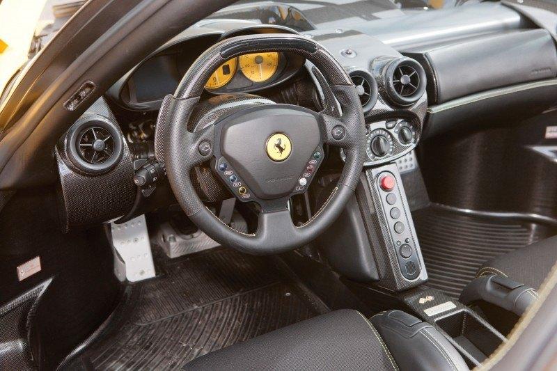 RM Monaco 2014 Highlights - 2003 Ferrari Enzo in Yellow over Black 4