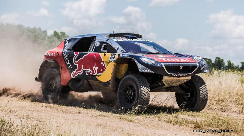 Rally Dakar 2016 Peugeot DKR16 Red Bull 11