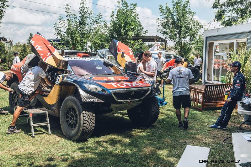 Rally Dakar 2016 Peugeot DKR16 Red Bull 3