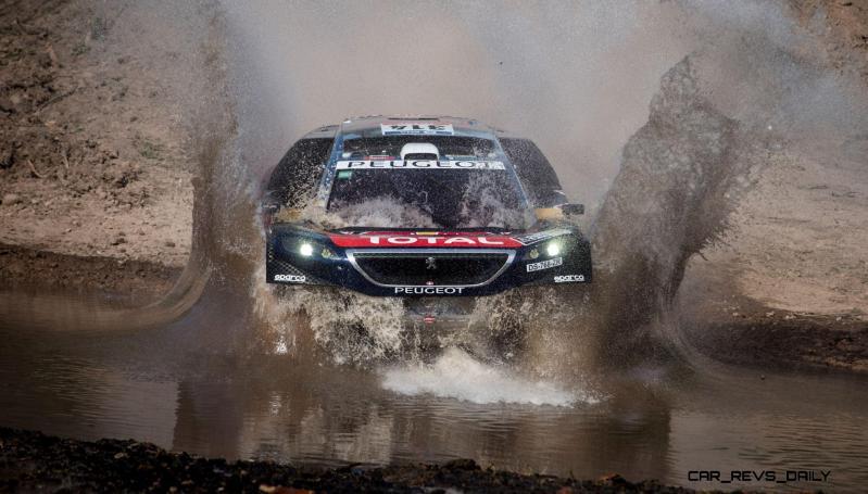 Rally Dakar 2016 Peugeot DKR16 Red Bull 32