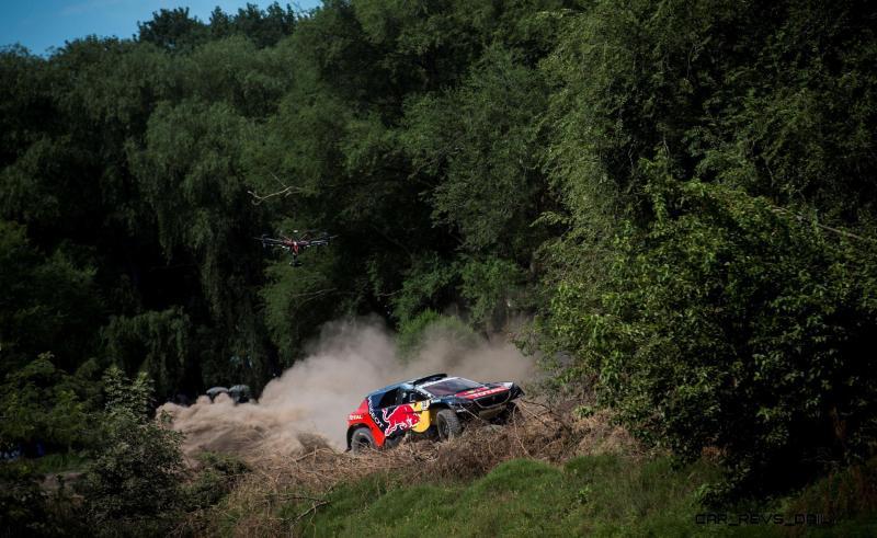 Rally Dakar 2016 Peugeot DKR16 Red Bull 34
