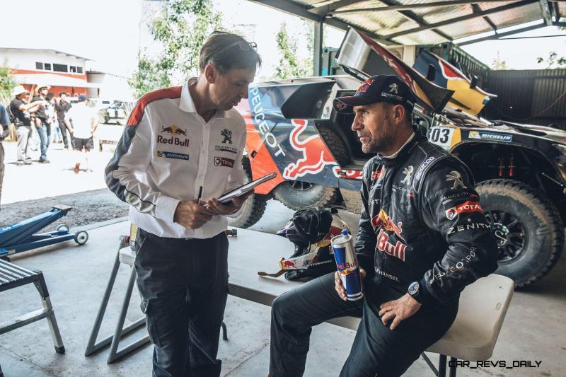 Rally Dakar 2016 Peugeot DKR16 Red Bull 6
