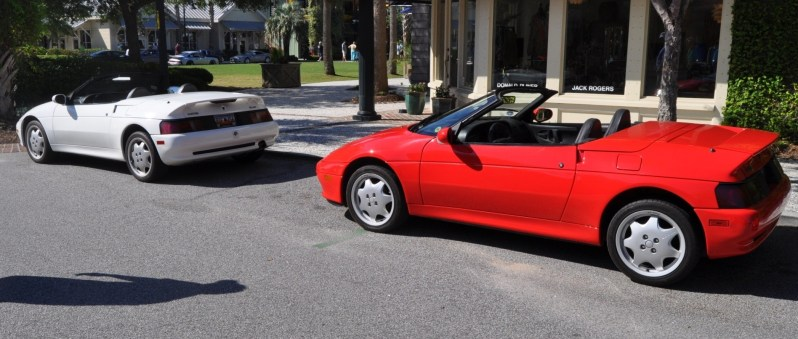 Rare Ragtops - A Pair of Lotus Elans Graced Kiawah Island, SC Cars and Coffee Today 32