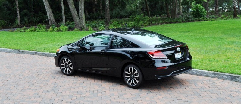Road Test Review - 2014 Honda Civic EX-L Coupe 116