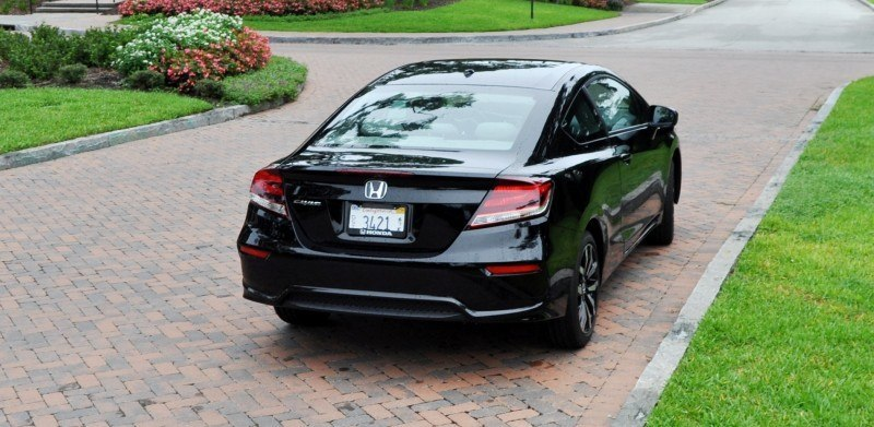 Road Test Review - 2014 Honda Civic EX-L Coupe 121