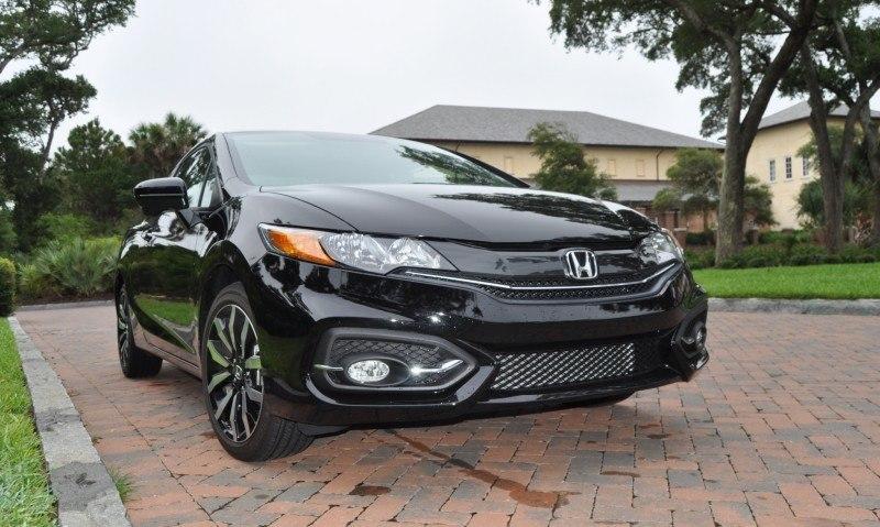 Road Test Review - 2014 Honda Civic EX-L Coupe 134