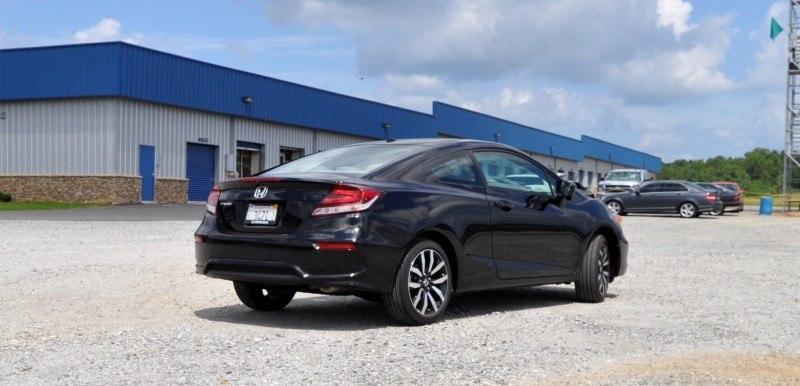 Road Test Review - 2014 Honda Civic EX-L Coupe 18