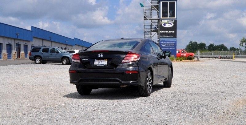 Road Test Review - 2014 Honda Civic EX-L Coupe 20