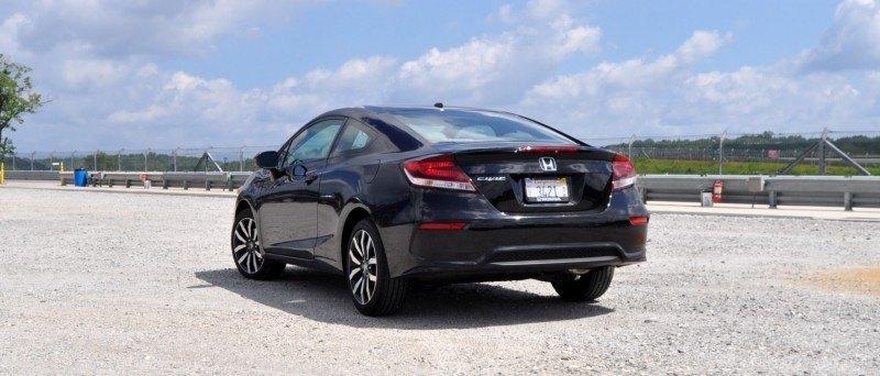 Road Test Review - 2014 Honda Civic EX-L Coupe 23