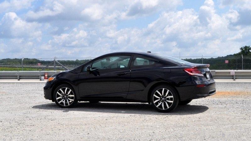 Road Test Review - 2014 Honda Civic EX-L Coupe 27
