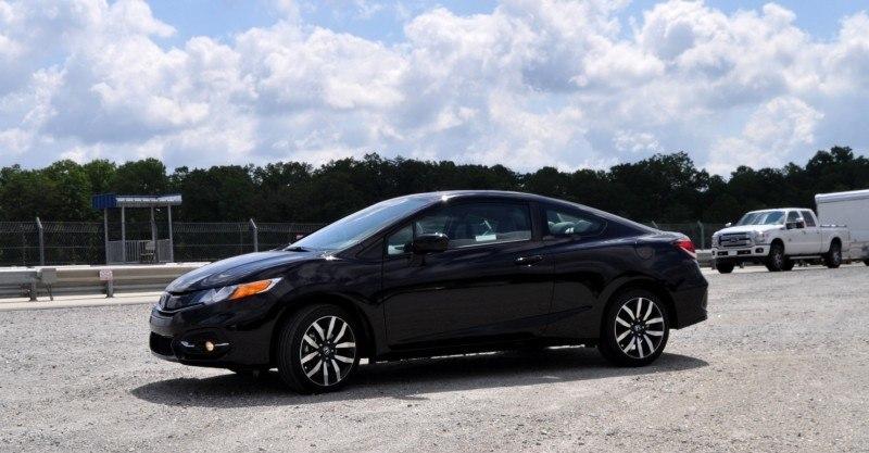 Road Test Review - 2014 Honda Civic EX-L Coupe 30