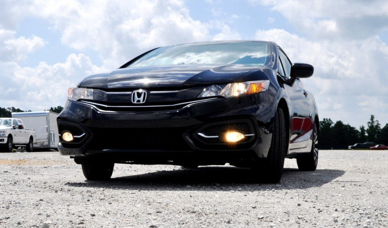 Road Test Review - 2014 Honda Civic EX-L Coupe 33