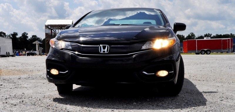 Road Test Review - 2014 Honda Civic EX-L Coupe 36