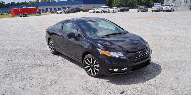 Road Test Review - 2014 Honda Civic EX-L Coupe 43