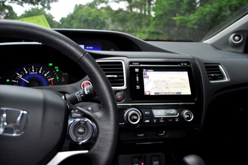 Road Test Review - 2014 Honda Civic EX-L Coupe 72