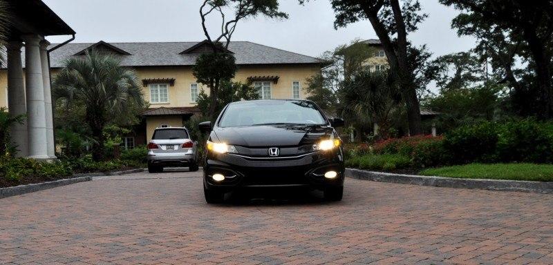 Road Test Review - 2014 Honda Civic EX-L Coupe 76