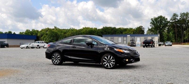 Road Test Review - 2014 Honda Civic EX-L Coupe 8