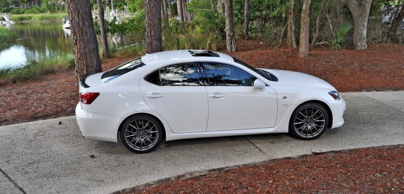Road Test Review 2014 Lexus IS-F Is AMAZING 11
