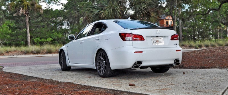 Road Test Review 2014 Lexus IS-F Is AMAZING 17