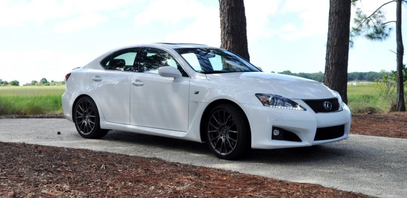 Road Test Review 2014 Lexus IS-F Is AMAZING 2