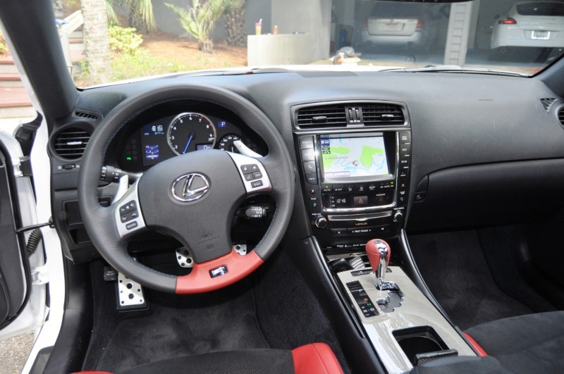 Road Test Review 2014 Lexus IS-F Is AMAZING 34