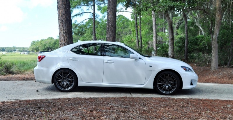 Road Test Review 2014 Lexus IS-F Is AMAZING 36
