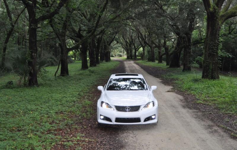 Road Test Review 2014 Lexus IS-F Is AMAZING Fun - 416HP 5.0L V8 Is Heaven in a Throttle 129