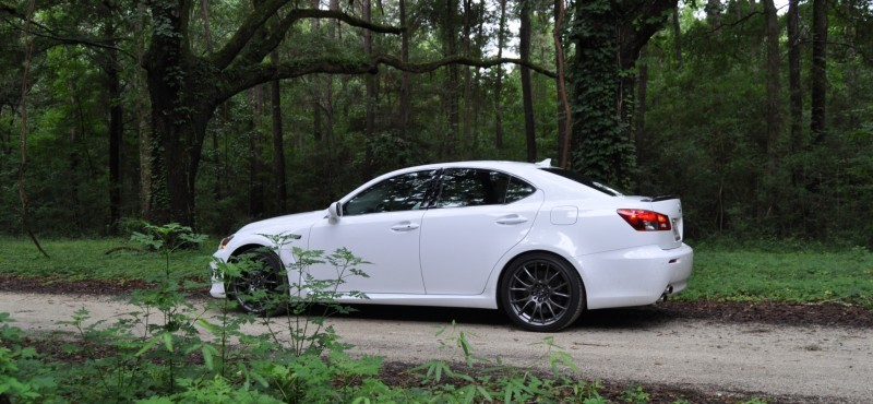 Road Test Review 2014 Lexus IS-F Is AMAZING Fun - 416HP 5.0L V8 Is Heaven in a Throttle 32
