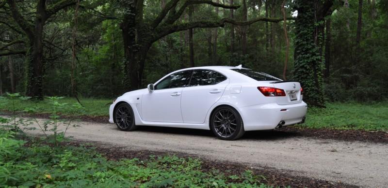 Road Test Review 2014 Lexus IS-F Is AMAZING Fun - 416HP 5.0L V8 Is Heaven in a Throttle 33