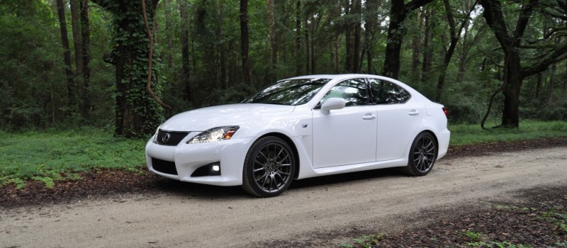 Road Test Review 2014 Lexus IS-F Is AMAZING Fun - 416HP 5.0L V8 Is Heaven in a Throttle 43