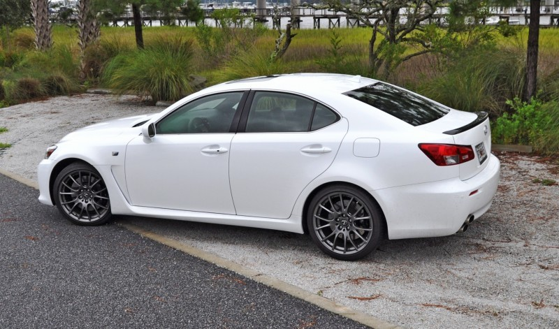 Road Test Review 2014 Lexus IS-F Is AMAZING Fun - 416HP 5_15