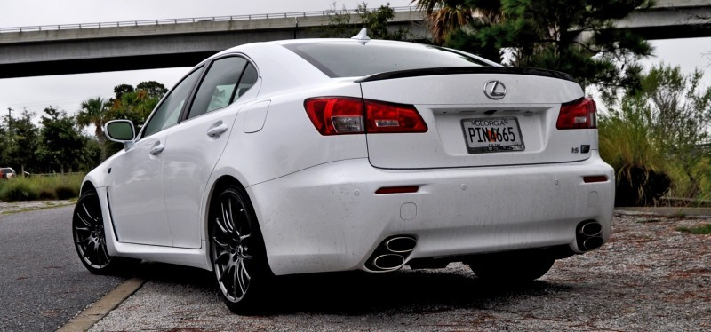 Road Test Review 2014 Lexus IS-F Is AMAZING Fun - 416HP 5_18
