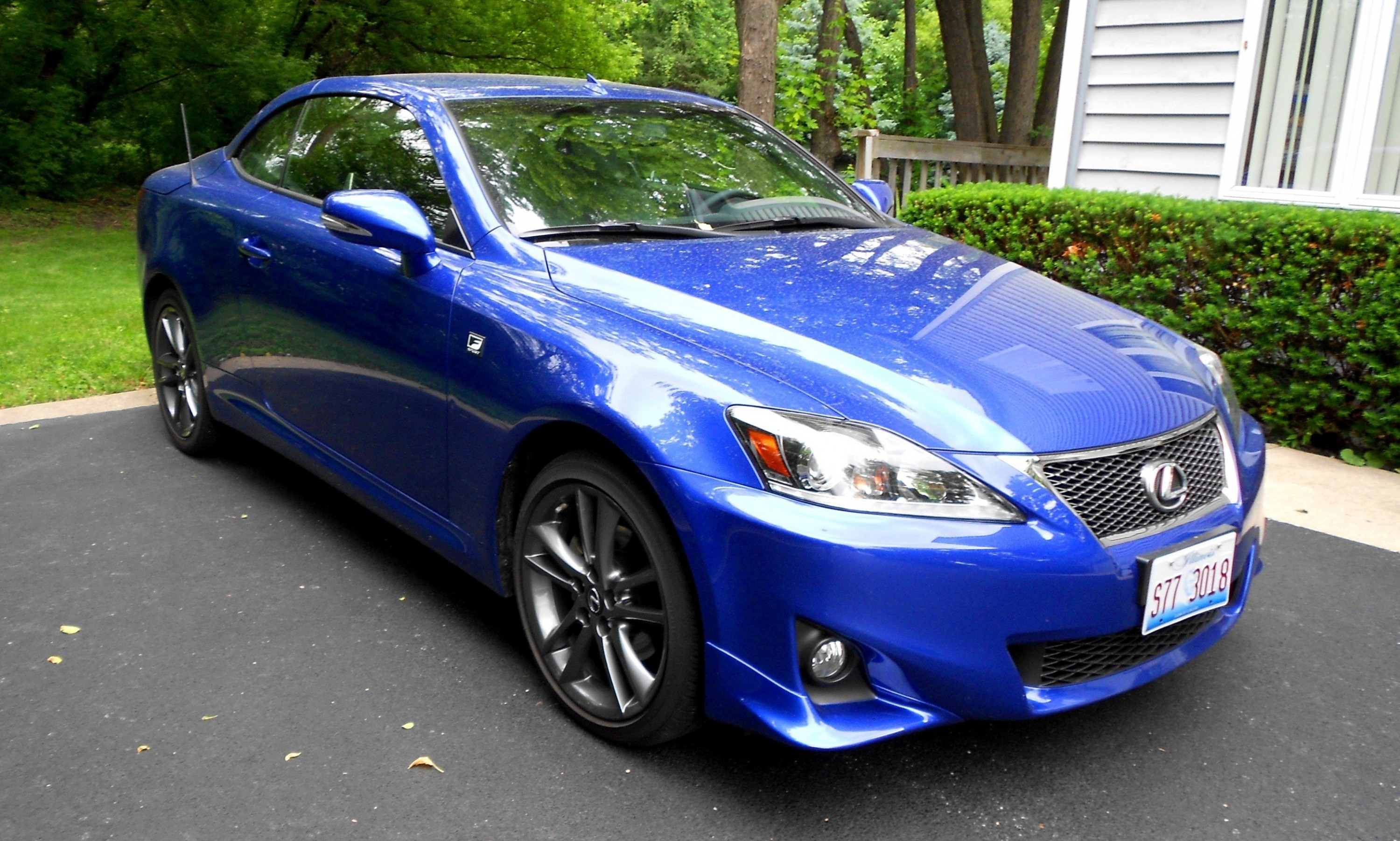 Road Test Review 2014 Lexus IS250 F Sport Convertible Is y