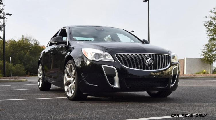 Road Test Review - 2016 Buick REGAL GS 19