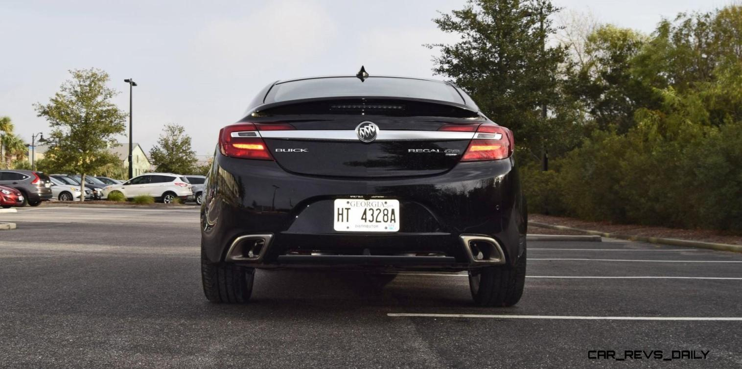Road Test Review - 2016 Buick REGAL GS 38