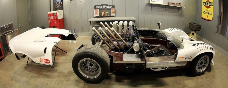 See The Authentic Chaparral 2H and 2J Racecars at the Petroleum Museum in Midland, Texas 21