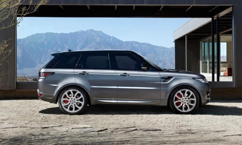Speculative Renderings - 2017 Range Rover SuperSport With Chop-Top Roofline Overhaul 3