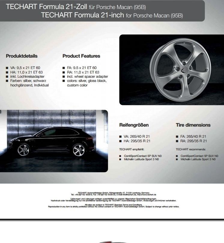 TECHART Releases First Four MACAN Wheels 6