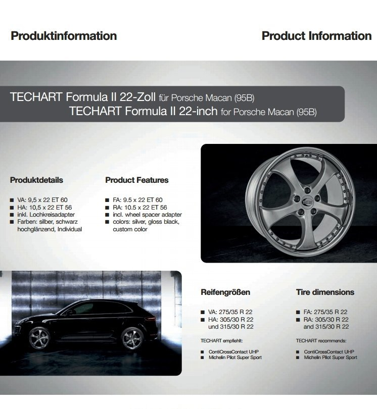 TECHART Releases First Four MACAN Wheels 7