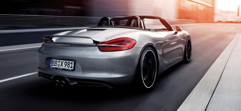 TECHART for Porsche Boxster and Cayman 12