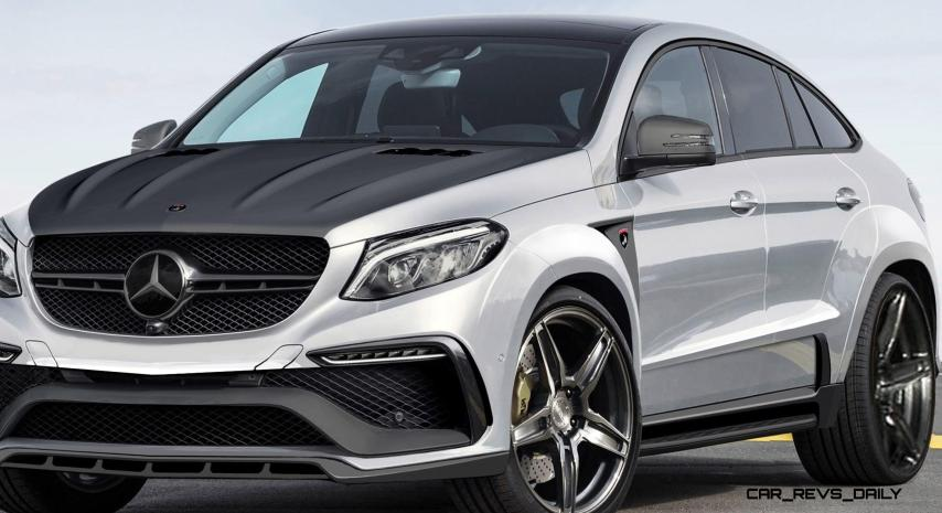TopCar Mercedes-Benz GLE Coupe INFERNO 10