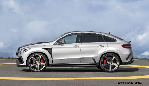 TopCar Mercedes-Benz GLE Coupe INFERNO 4