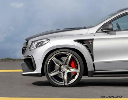 TopCar Mercedes-Benz GLE Coupe INFERNO 5
