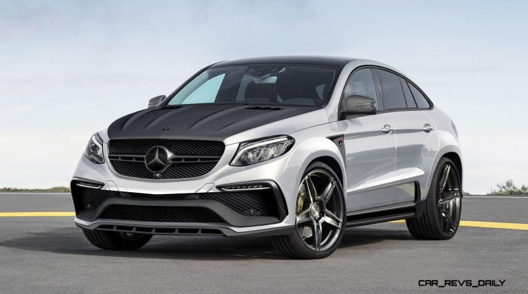 TopCar Mercedes-Benz GLE Coupe INFERNO 7