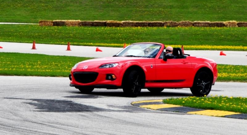 Track Test Review - 2014 Mazda MX-5 Club Hardtop at Road America Autocross6