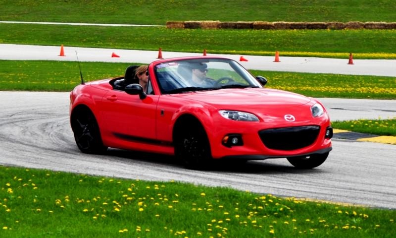Track Test Review - 2014 Mazda MX-5 Club Hardtop at Road America Autocross9