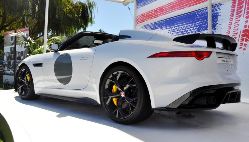 USA Debut - 2014 JAGUAR F-TYPE Project 7 Speedster! 3.8s to 60MPH, 575HP, 250 Copies Max 15
