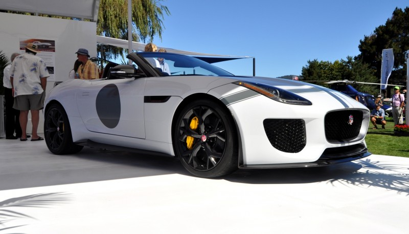 USA Debut - 2014 JAGUAR F-TYPE Project 7 Speedster! 3.8s to 60MPH, 575HP, 250 Copies Max 2
