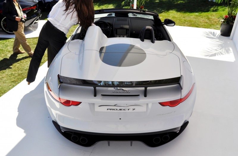 USA Debut - 2014 JAGUAR F-TYPE Project 7 Speedster! 3.8s to 60MPH, 575HP, 250 Copies Max 26