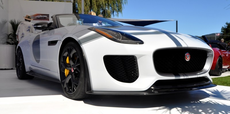 USA Debut - 2014 JAGUAR F-TYPE Project 7 Speedster! 3.8s to 60MPH, 575HP, 250 Copies Max 3